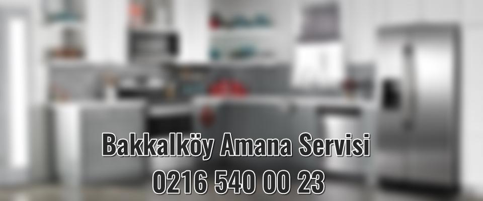 Bakkalköy Amana Servisi
