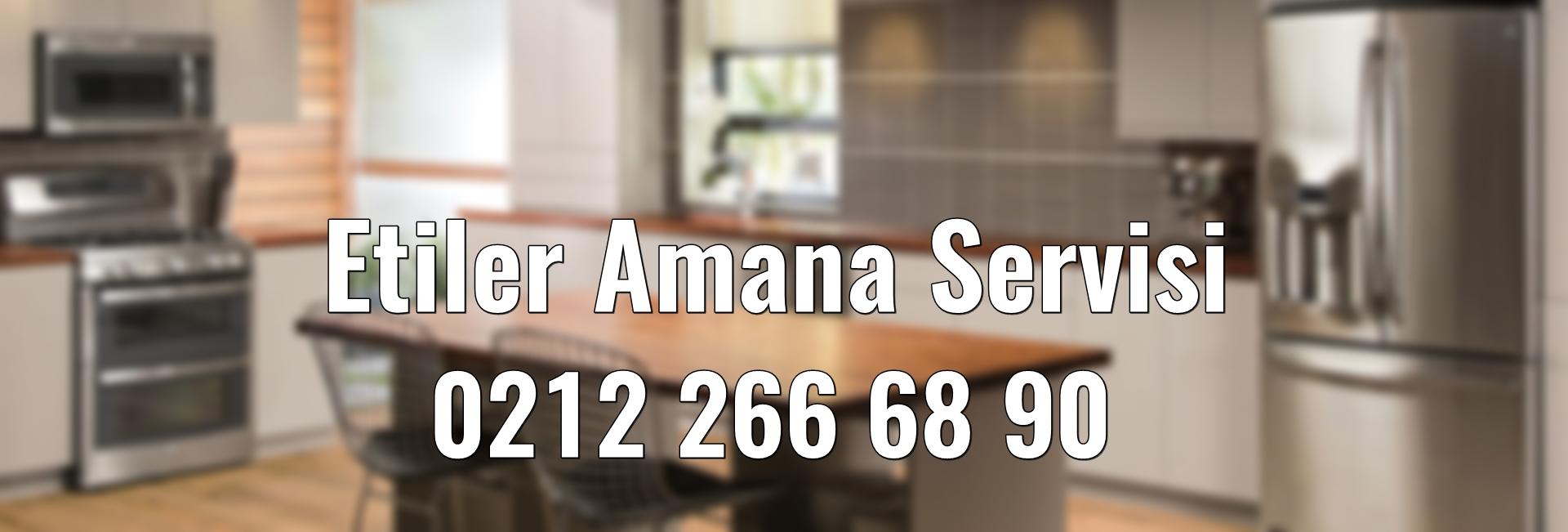 Etiler Amana Servisi